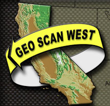 GEO SCAN WEST homepage